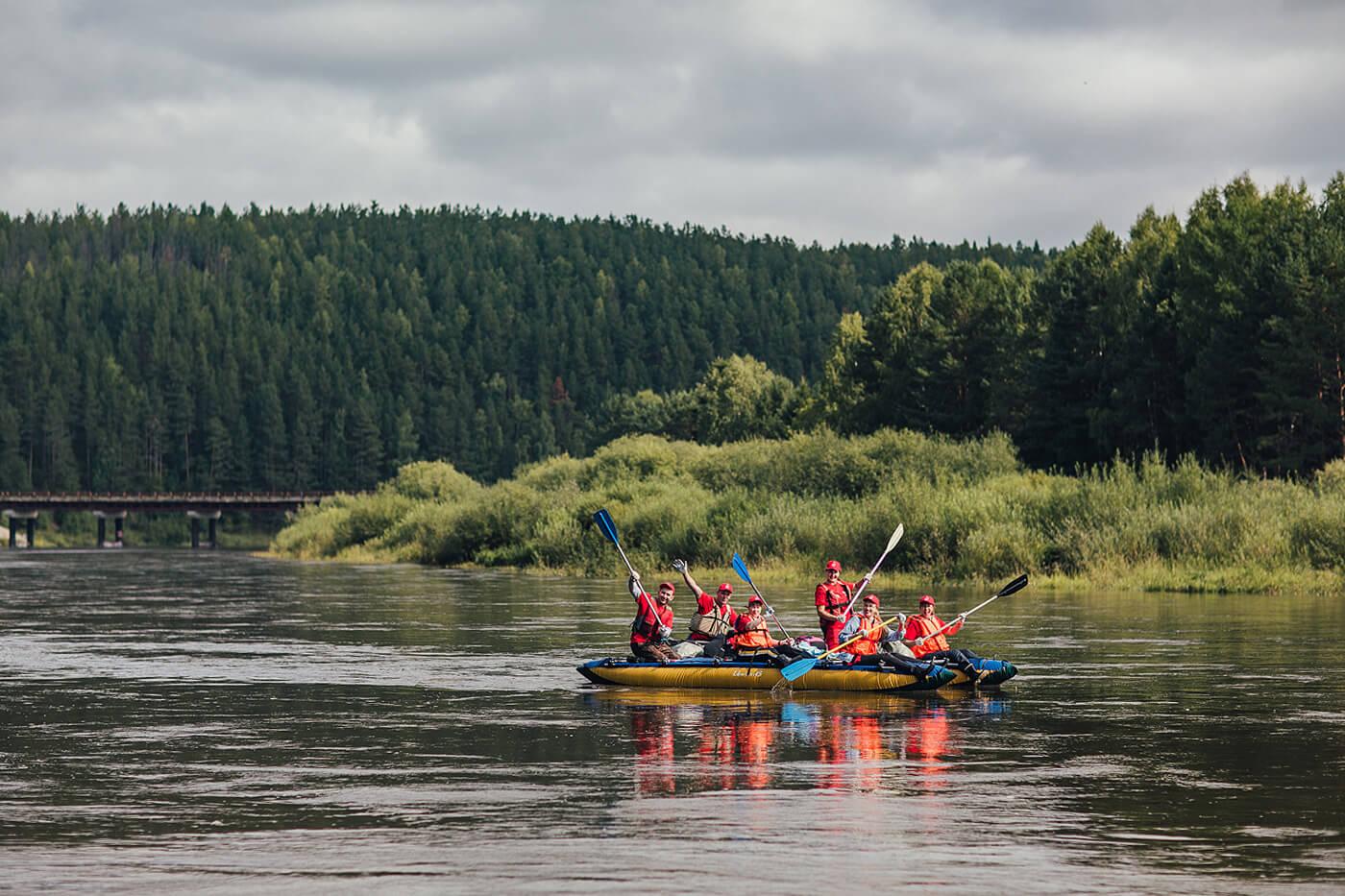 Ecological Rafting On The Chusovaya River 4