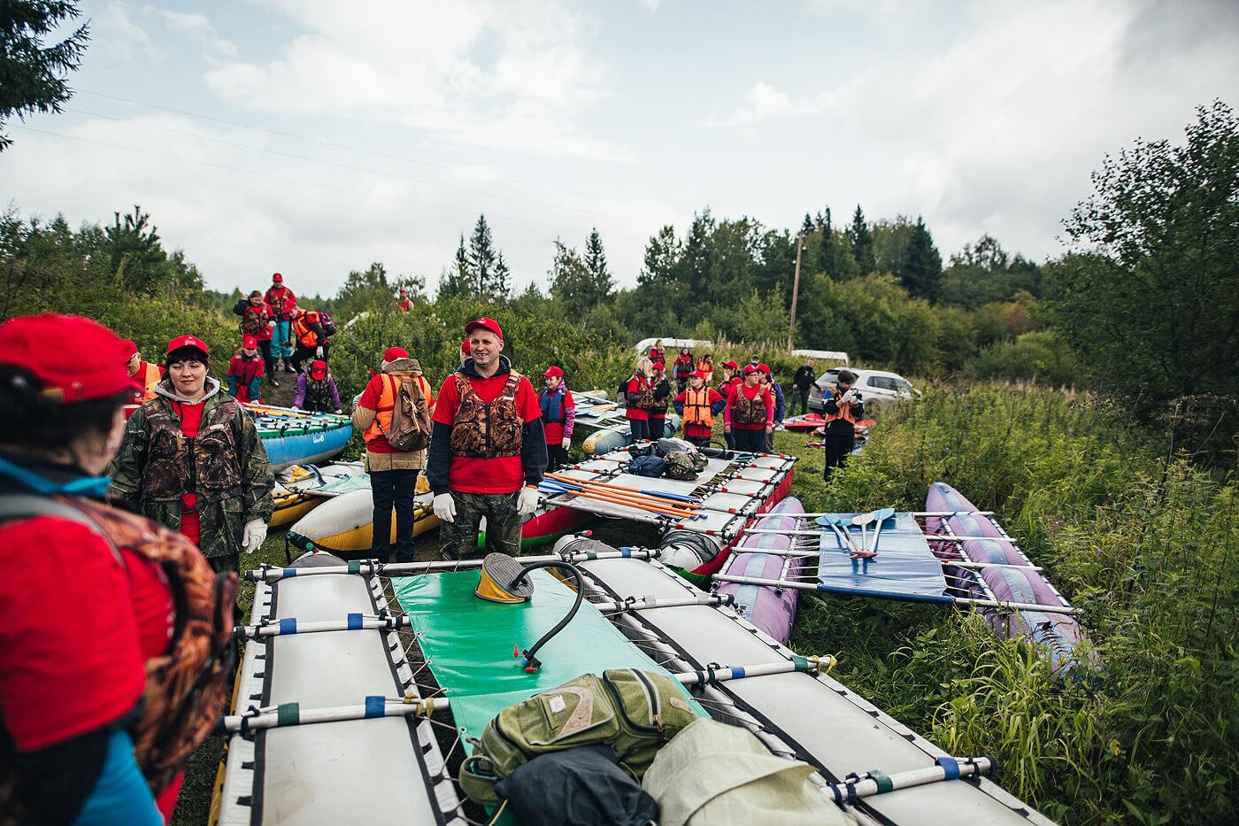Ecological Rafting  On The Chusovaya River 2
